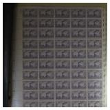 US Stamps Mint NH Sheets 1940s-1950s FACE VAL $310