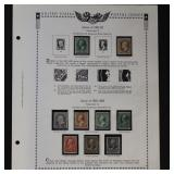 US Stamps 1857-1888  Mint RG 17 stamps mixed cond