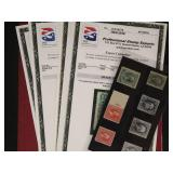 US Stamps 19th century PSE graded lot CV $345+
