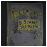 Worldwide Stamps 1916 Lincoln Album, China, Japan,