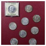 Jefferson Nickels 1938-2019; Year Date Set; incl.Silver In Coin Folder MORE!