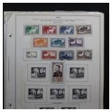 Laos Stamps 1951-1970 Mint LH & Used on pages, man