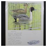US Stamps Duck Print Signed by Artist Balke