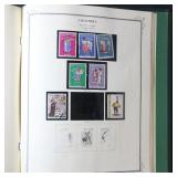 Colombia Stamp Collection on Scott Pages