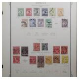Australia Stamp Collection to 1987 CV $1400+