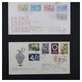 WW Stamps 46 REgistered Covers incl. 1st Days