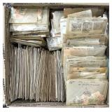 Worldwide Stamps 1000s in old glassines, envelopes