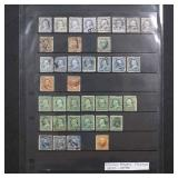 US Stamps 1890s-1930s on Hagner pages incl Commems