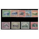Trinidad & Tobago Stamps #34-42 Mint DG Set with g