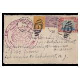 US Stamps Graf Zeppelin flown Cover 1929