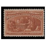 US Stamps #239 Mint VF/XF LH CV $225