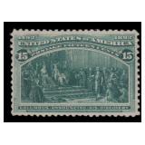 US Stamps #238 Mint VF H CV $200