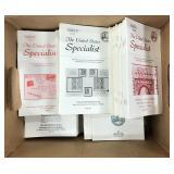 US Stamp Literature Stamp Specialist 104 issues