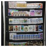 Australia Stamps 2000+ Used on album, Vario & Stoc