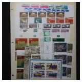 Israel Mint NH Stamps & S/S most w/ tabs CV $200