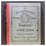 Worldwide Stamps in Scott Junior 1938, few hundred