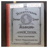 WW Stamp Collection in International Junior