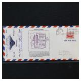 US Stamps 40th Anniversary Air Mail Cover Signed