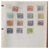 Czechoslovakia Stamps in Album Used