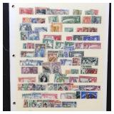 Jamaica Stamps Mint & Used on Pages