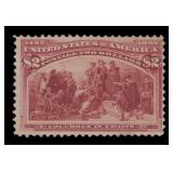 US Stamps #242 Mint RG Fine CV $240