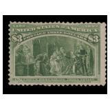 US Stamps #243 Mint RG Fine CV $270