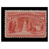 US Stamps #241 Mint RG Fine CV $240