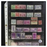 US Stamps Small Accumulation Mostly Mint