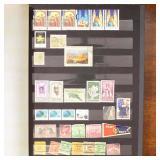 WW & US Stamps in Two Stockbooks