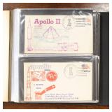 US Stamps Space Covers 100+ Apollo Flights 2/16