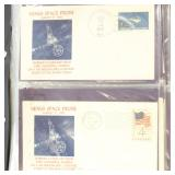 US Stamps Space Covers 100+ Mariner 2-10 Flights