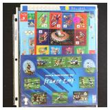 France Stamps Mint NH Sports Sheets CV $125+