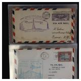 US Stamps Lot of Early Airmail Covers