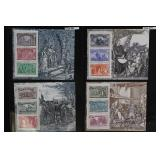 WW Stamps Columbus Souvenir Sheets