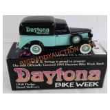 Daytona Bike Week 1936 Dodge panel delivery Bank