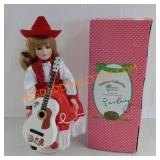 Treasury collection cowgirl doll