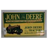 Vintage Ande Rooney John Deere sign
