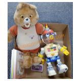 Teddy Ruxpin and robots