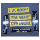 VTG Steve Arbuckle metal signs