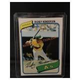 Rookie Rickey Henderson Card