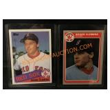2- Roger Clemens Cards