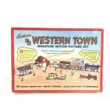Authentic Western Town Miniature Motion Picture