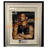 Signed Will Smith Framed Photo