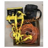 Tie Downs, extension cords and more