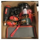 Heat gun, lantern and more