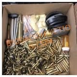 Gun Cleaning, Empty Brass & More
