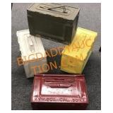 4-ammo boxes