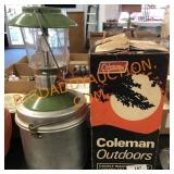 Coleman lantern campfire cooking