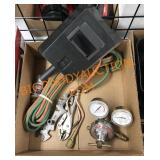 Welding shield, gas lines and more