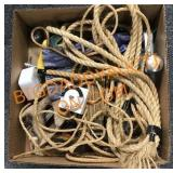 Ropes and tools